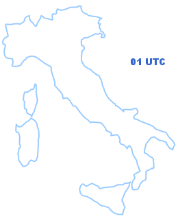 Cartina Italia 01 UTC